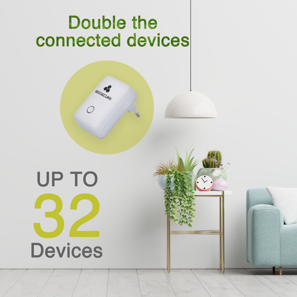 Bee-hub doubles the connected devices to 32