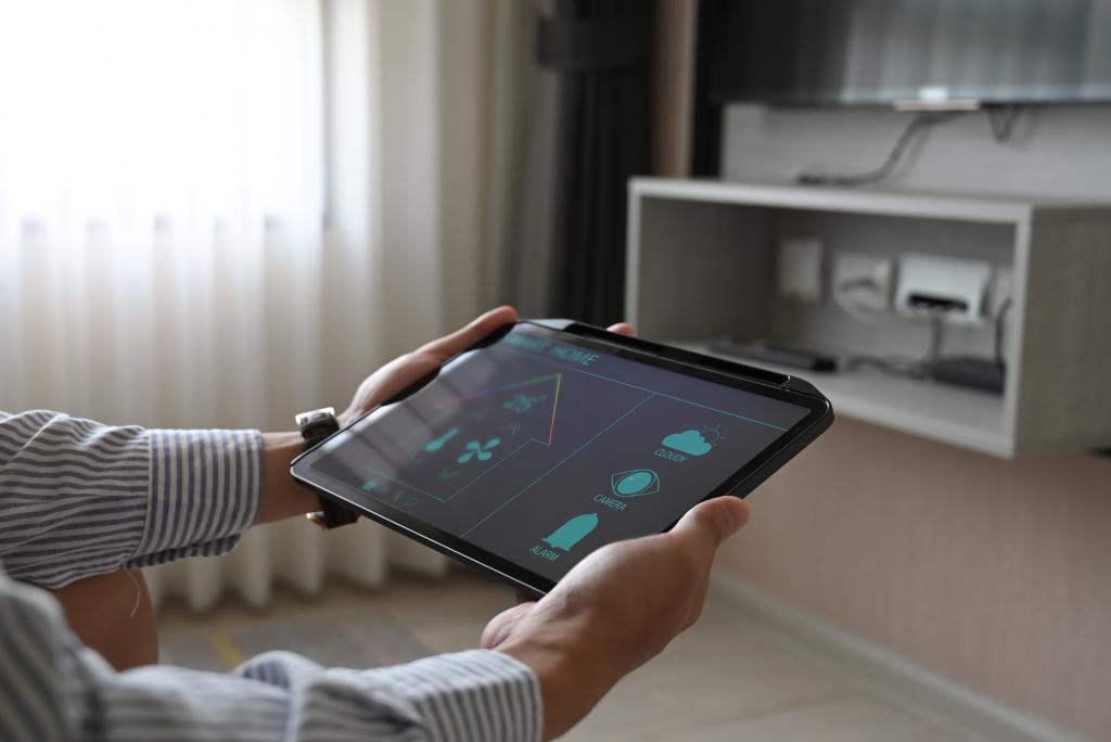 app control smart home system